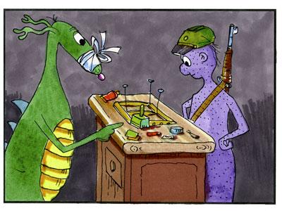 Bezonki Ann Arbor art comic