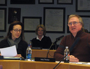 Christine Stead, Andy Thomas, Ann Arbor Public Schools
