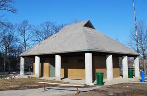 Building at Allmendinger Park