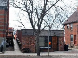 Former Bessenberg Bindery building