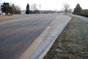 bus pullout Ann Arbor Saline Road