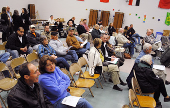Public meeting at Abbott Elementary on Pall dioxane plume