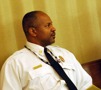 assistant fire chief Chuck Hubbard