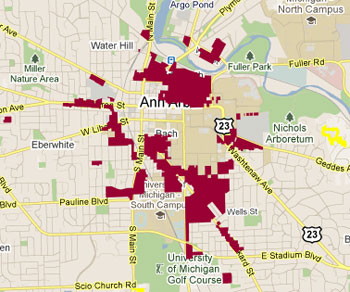 R4C City of Ann Arbor Zoning