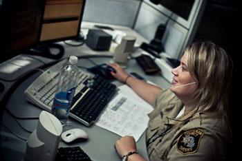 Washtenaw County sheriff's office dispatcher