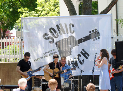 Ann Arbor Sonic Lunch June 30 2011