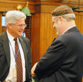 Brian Mackie, Larry Kestenbaum