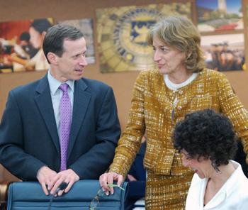 Tim Slottow, Andrea Fischer Newman, Ora Pescovitz