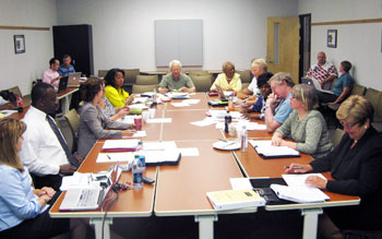 AAPS board table
