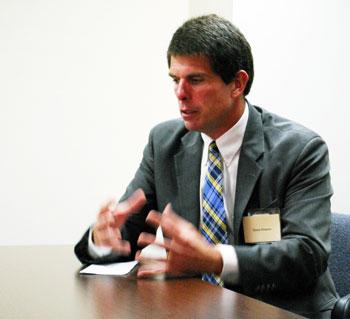 Steve Powers Ann Arbor city administrator finalist