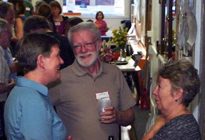 Wendy Rampson, John & Marsha Chamberlin