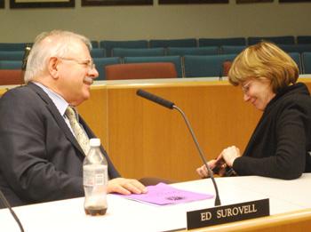 Ed Surovell, Rebecca Head