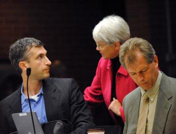 Christopher Taylor, Marcia Higgins, Stephen Kunselman