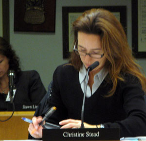 Christine Stead AAPS board of trustees