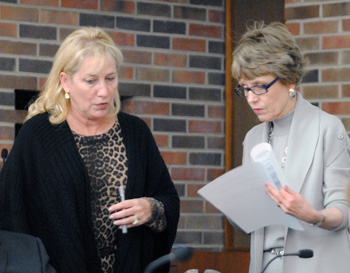 Denise Ilitch, Mary Sue Coleman