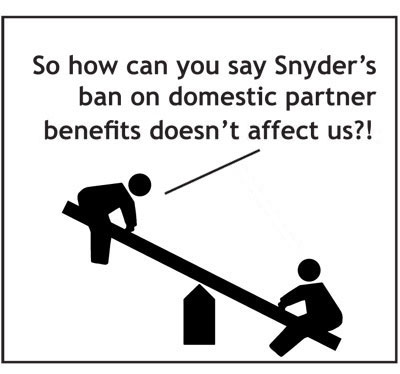 Governor Snyder domestic partner benefits
