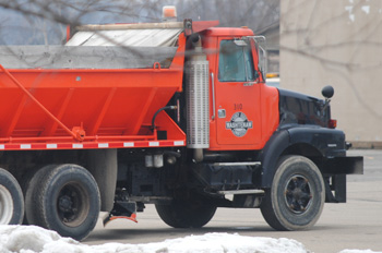 Washtenaw County road commission truck