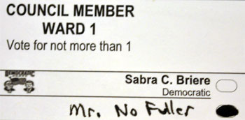 Ballot Mr. No Fuller
