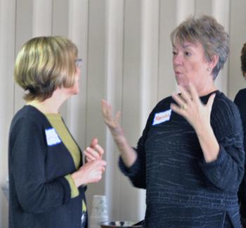 Cathy Gendron, Marsha Chamberlin