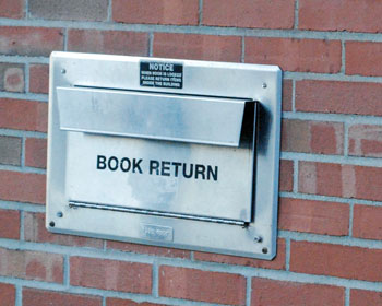 Ann Arbor District Library book return