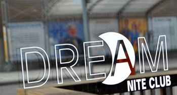Dream Nite Club Sign