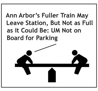 Fuller Road Station Train Commuter Rail Parking Deck