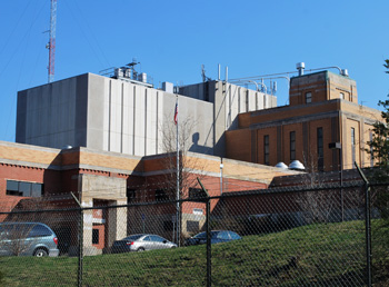 Ann Arbor water treatment plant