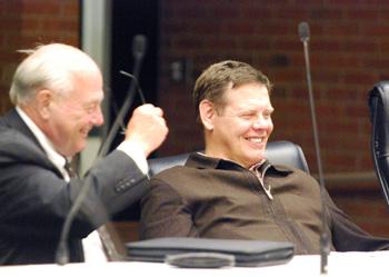 Tony Derezinski, Evan Pratt