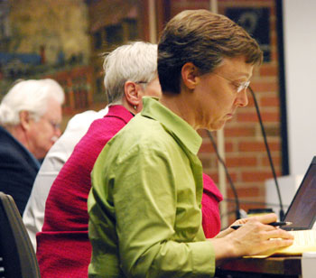 Margie Teall (Ward 4) chairs the council's audit committee.
