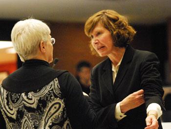 Susan Pollay, Marcia Higgins