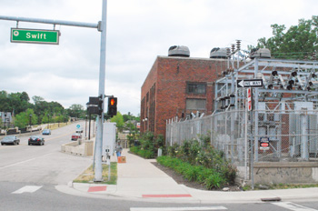 Argo substation at Broadway and Swift