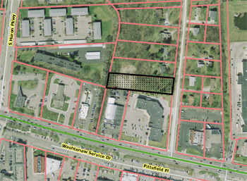 Map of Chalmers Place parking proposal
