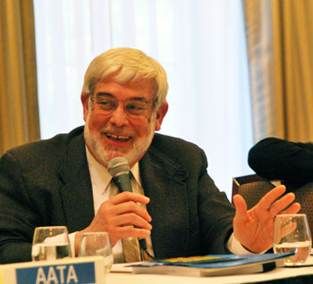 AATA board chair Jesse Bernstein