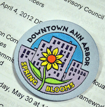 spring blooms Girl Scout badge