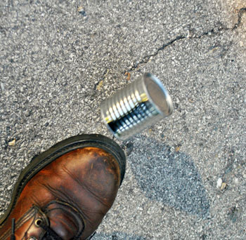 When kicking the can down the road, be sure it's a small can, a short road and does not contain worms.