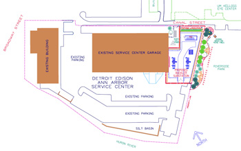 DTE Energy Buckler substation site plan