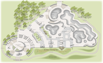 Sketch from the Wally Hollyday skatepark proposal