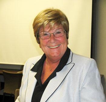 Ann Arbor Public Schools superintendent Patricia Green