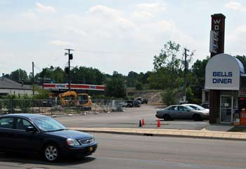 Site of the proposed Noodles & Co. restaurant on West Stadium