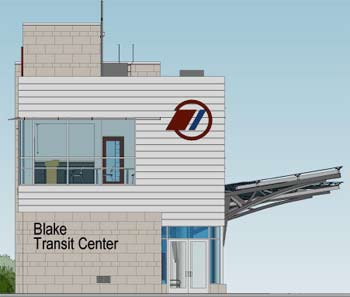 Blake Transit Center schematic