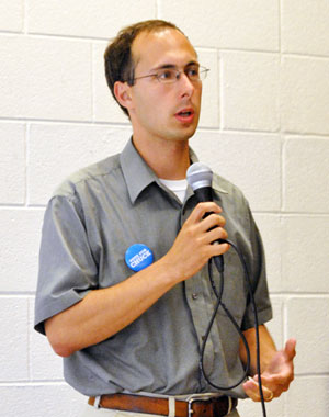 Chuck Warpehoski, Ward 5 Democratic candidate for Ann Arbor city council