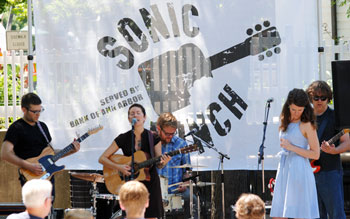 Misty Lyn and the Big Beautiful from summer 2011 Sonic Lunch