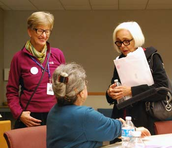 Prue Rosenthal, Barbara Murphy, Jan Barney Newman, Ann Arbor District Library board, The Ann Arbor Chronicle