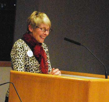 Ellie Serras, Ann Arbor District Library Board, Our New Downtown Library, election, bond proposal, The Ann Arbor Chronicle