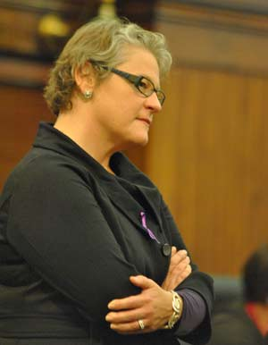 Barbara Niess May, SafeHouse Center, Washtenaw County board of commissioners, domestic violence, The Ann Arbor Chronicle