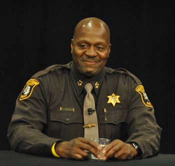 Jerry Clayton, Washtenaw County sheriff, The Ann Arbor Chronicle, Ann Arbor League of Women Voters of the Ann Arbor Area