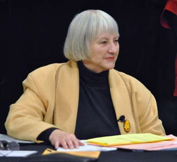 Judy Mich, Washtenaw County board of commissioners, League of Women Voters of the Ann Arbor Area, The Ann Arbor Chronicle