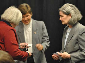 Judy Mich, Marlene Chockley, Catherine McClary, League of Women Voters of the Ann Arbor Area, Washtenaw County treasurer, The Ann Arbor Chronicle