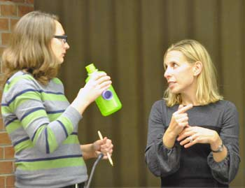 Missy Stults, Julie Grand, Ann Arbor park advisory commission, The Ann Arbor Chronicle