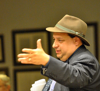 "AATA board member David Nacht expressed concern about the idea of adding back in project elements to the new Blake Transit Center, grounding his concern in part in the fact that he was wearing his ""treasurer's hat."""